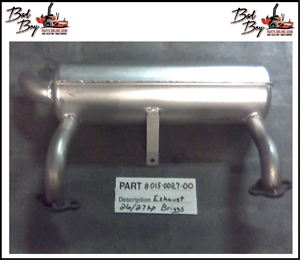 Exhaust Briggs 26/27hp - Bad Boy Part # 015-0027-00