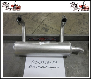 Exhaust - 23hp Vanguard Engine - Bad Boy Part # 015-0033-00