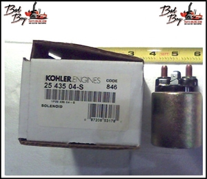 Starter Solenoid-30hp Kohler - Bad Boy Part # 015-0036-00