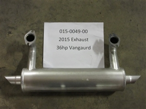 Exhaust - Bad Boy Part# 015-0049-00