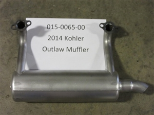 2014 Kohler Outlaw Muffler Bad Boy Part# 015-0065-00