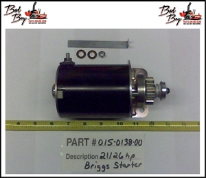 21/26hp Briggs Starter-693551 - Bad Boy Part # 015-0138-00
