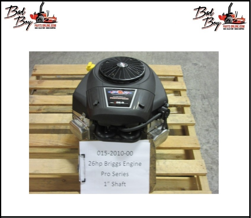 26hp Briggs Professional Series - Bad Boy Part # 015-2010-00