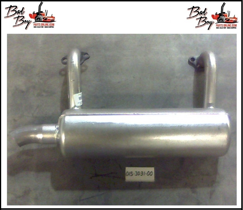 Exhaust for 30hp Briggs Engine - Bad Boy Part # 015-3031-00