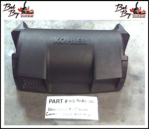 Air Cleaner Cover Confidant Only Bad Boy Part# 015-9080-00