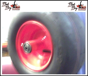 13 x 6.50 - 6 Orange Tire. - Bad Boy Part # 022-2006-00