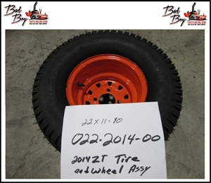 Wheel for Tire Size 22x11-10 - Bad Boy Part # 022-2014-00