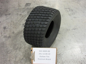 24 x 12.00 - 10 Outlaw Tire - Bad Boy Part # 022-4005-00