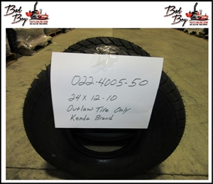 24x12-10 Kenda Outlaw Tire Bad Boy Part# 022-4005-50