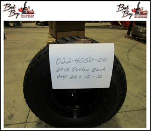 2015 Outlaw Black Assy24x12-12 Bad Boy Part# 022-4050