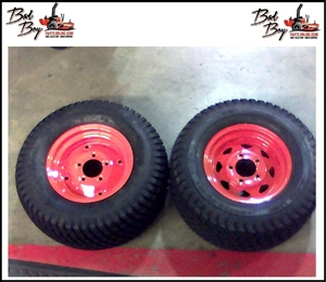 24 x 12.00 - 12 Tire and Orange - Bad Boy Part # 022-5450-00