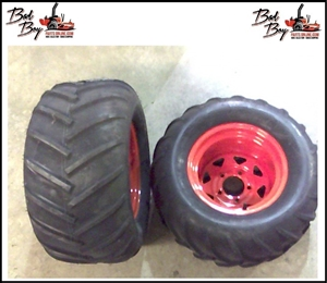 "24x12x12 Left Wheel & Tire (54"") - Bad Boy Part # 022-5451-00L"
