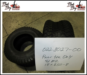 18x8.50-8 Rear Tire Only 42 MZ - Bad Boy Part # 022-8027-00