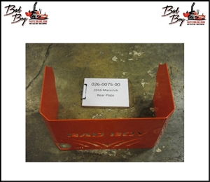 Rear Plate for 2016 Maverick - Bad Boy Part# 026-0075-00