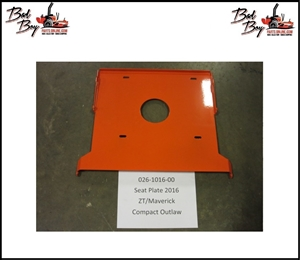 Seat Plate 2016 - Bad Boy Part# 026-1016-00