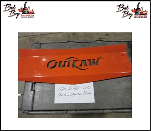 Outlaw Spoiler Plate  - Bad Boy Part # 026-1040-00