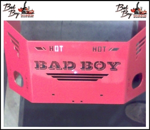 Outlaw Rear Plate - Bad Boy Part # 026-2110-00