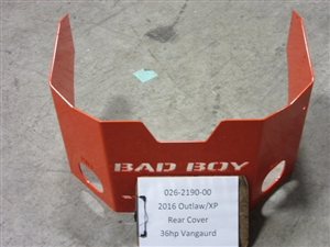 Rear Cover36 hp Vanguard Engine - Bad Boy Part# 026-2190-00
