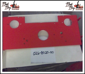 Pump Mounting Plate AOS - Bad Boy Part # 026-8020-00