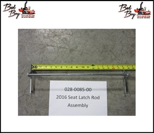 Seat Latch Rod Assembly, Bad Boy Part#  028-0085-00