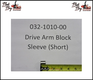 Drive Arm Block Sleeve - Bad Boy Part# 032-1010-00