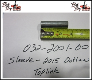 Sleeve-2015 Outlaw Toplink - Bad Boy Part# 032-2001-00
