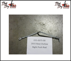 Base Outlaw Push Rod - Right - Bad Boy Part# 035-0075-00
