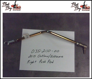 2013 Outlaw/Extreme Push Rod-R - Bad Boy Part# 035-2110-00