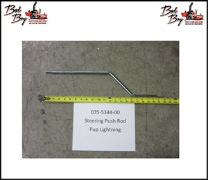 Steering Push Rod-Pup/Lightning - Bad Boy Part # 035-5344-00
