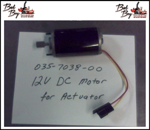 12VDC Motor for Actuator - Bad Boy Part# 035-7038-00