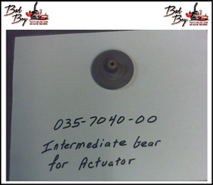 Intermediate Gear for Actuator - Bad Boy Part# 035-7040-00
