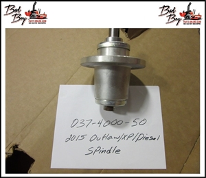 2015 Outlaw/XP/Diesel Spindle - Bad Boy Part# 037-4000-50