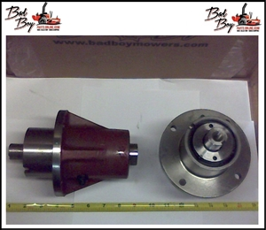 Greasable Short Spindle - Red - Bad Boy Part # 037-7000-00
