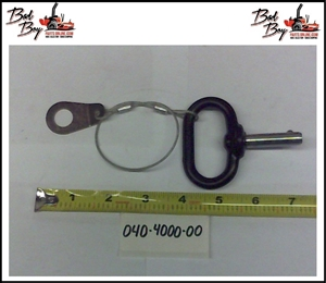 MZ Deck Height Lever Pin - Bad Boy Part # 040-4000-00