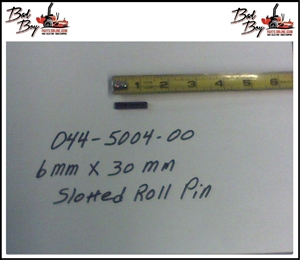 6MM X 30MM Roll Pin Plain - Bad Boy Part # 044-5004-00