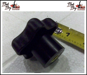5/16 Black Plastic Knob - Bad Boy Part # 045-6043-00