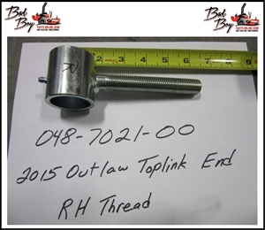 2015 Outlaw Toplink RH End - Bad By Part# 048-7021-00