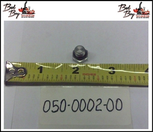 5/16-24 Straight Thread Plug - Bad Boy Part # 050-0002-00