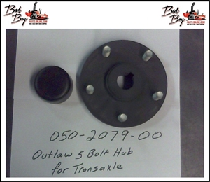 Outlaw 5 Bolt Hub for Transaxle -Bad By Part# 050-2079-00
