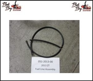 2013 ZT Fuel Line Assembly - Bad Boy Part# 051-2013-00