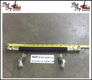 "16"" Hose Assembly w/45 Adapter - Bad Boy Part # 051-2050-00"