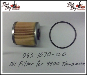 Oil Filter for 4400 Transaxle - Bad Boy Part# 063-1070-00