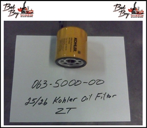 25/26 HP Kohler Engine Oil Filter for ZT  - Bad Boy Part # 063-5000-00