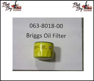 Oil Filter for Briggs and Kawasaki FS730V - Bad Boy Part # 063-8018-00