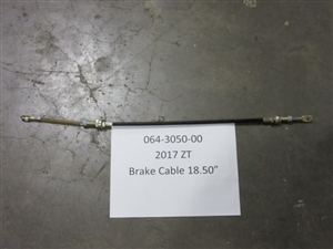 2017 ZT Short Brake Cable - 18.5"