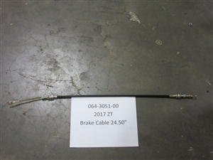 2017 ZT Long Brake Cable - 24.5""