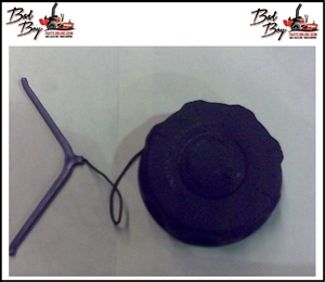 "3.5"" Tethered Fuel Cap - Bad Boy Part #066-8083-00"