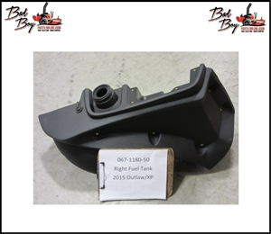 Rght Fuel Tank 2015 Outlaw/XP - Bad Boy Part# 067-1180-50