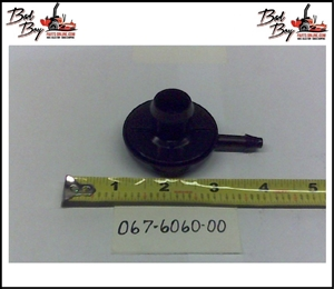 Black Rollover Valve - Bad Boy Part # 067-6060-00