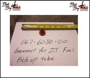 Grommet for ZT Elite Fuel Line, Bad Boy Part# 067-6080-00